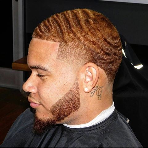 This Is A Great Hairstyle For Black Men With Longer Hair One Of Those Hairstyles Which We Do Not See Enough And Isn T Reciated The
