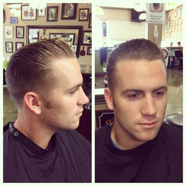 Short and Sweet Pompadour