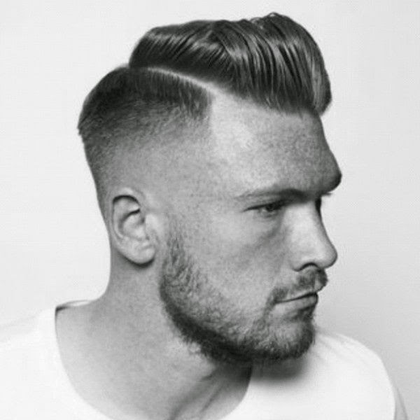 Undercut and Taper Pompadour