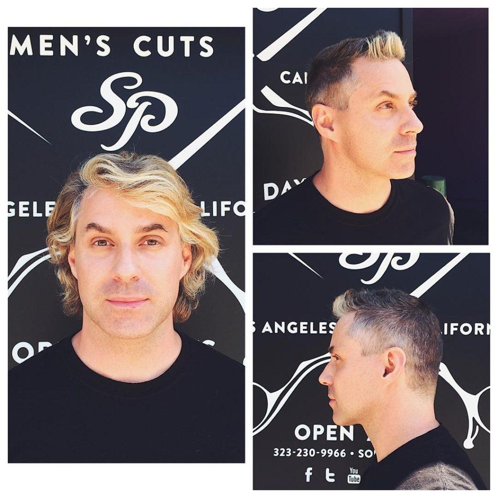 Wavy and Straight Short Shag Haircut