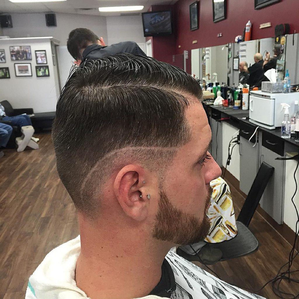 clean fade haircut