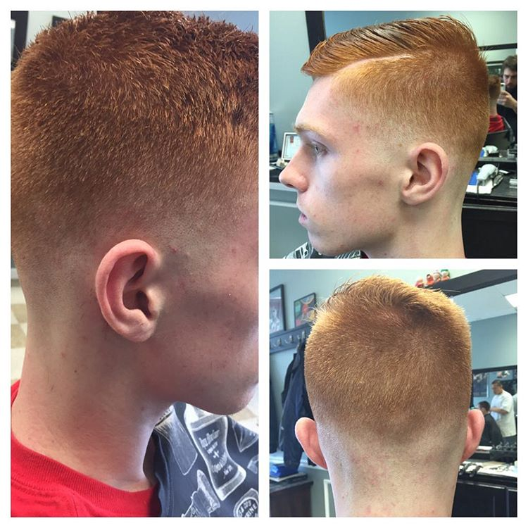low skin tight fade