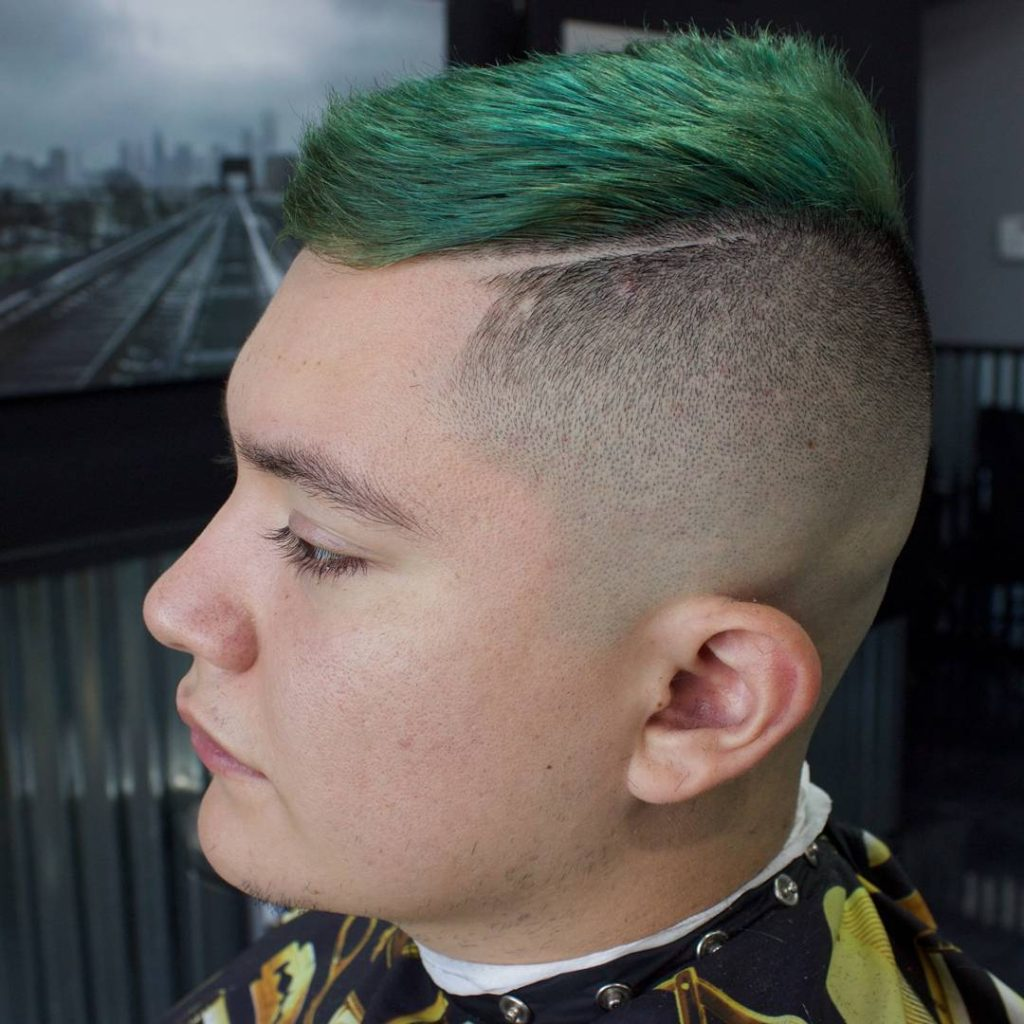 High and Tight Funky Green