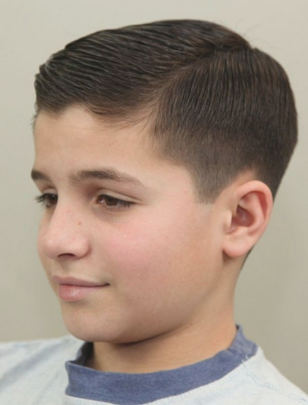 The Slicked Haircut for Boys