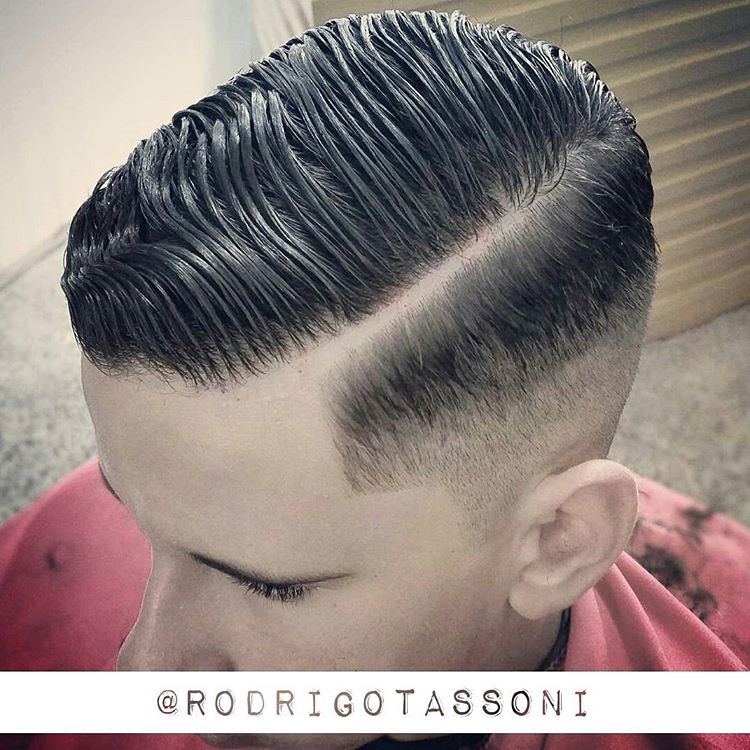 fade out pompadour