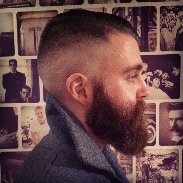 The High and Tight with Beard