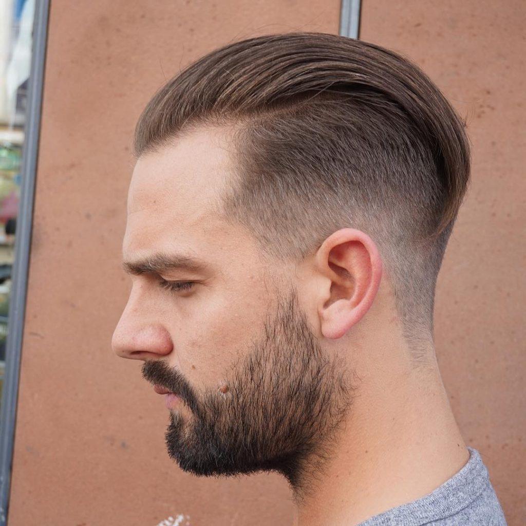 Straight Vintage Undercut Hair