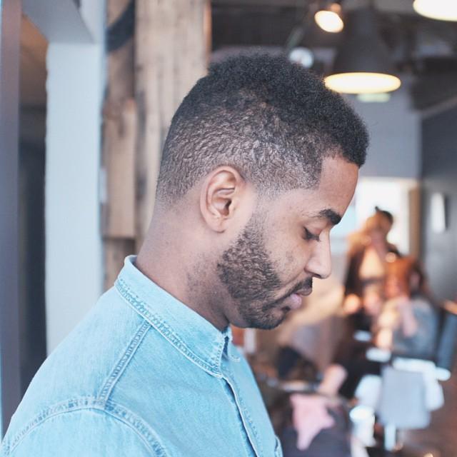 Fade with Beard