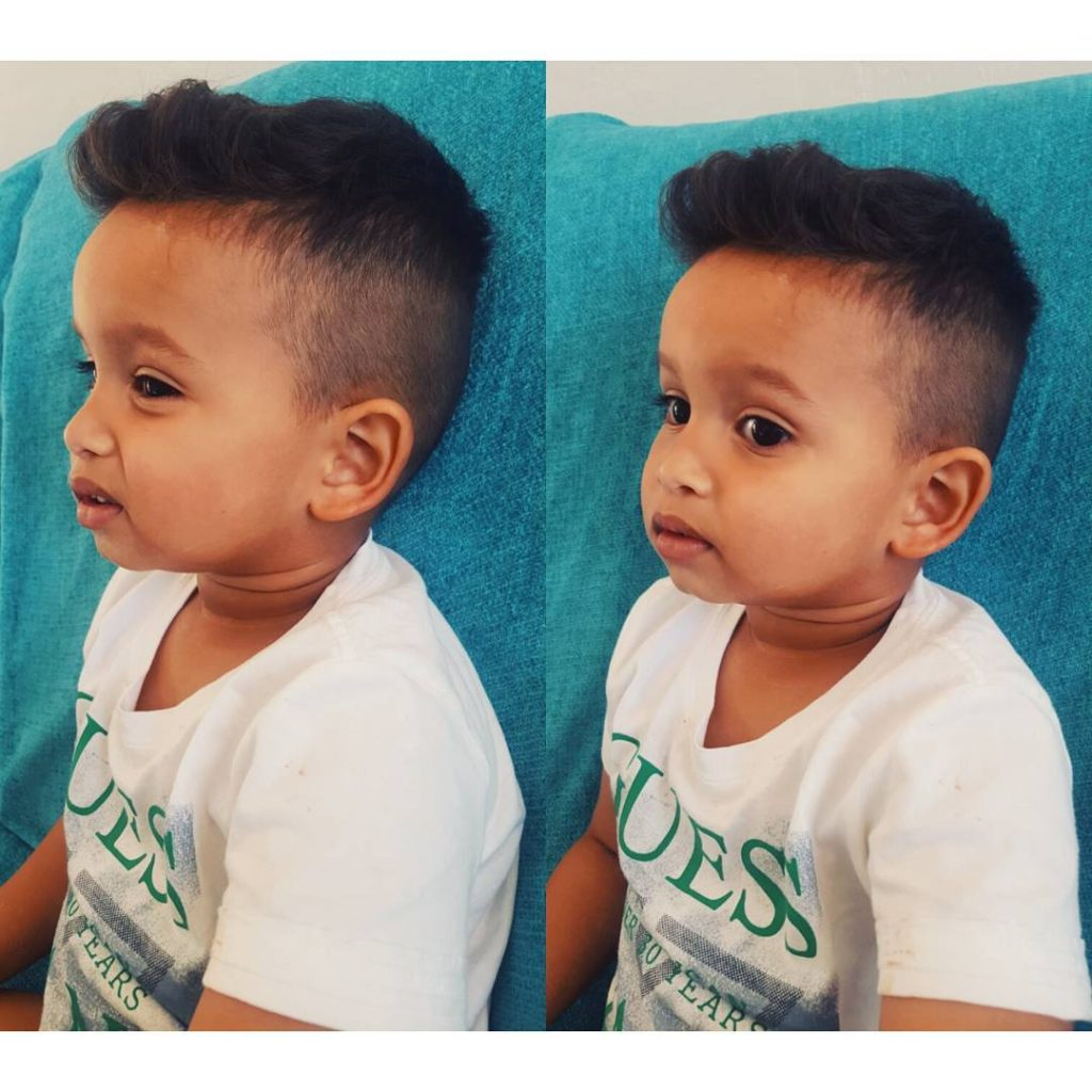 Fine Little Boy Hairstyles 70 Trendy And Cute Toddler Boy Kids Hairstyles For Men Maxibearus