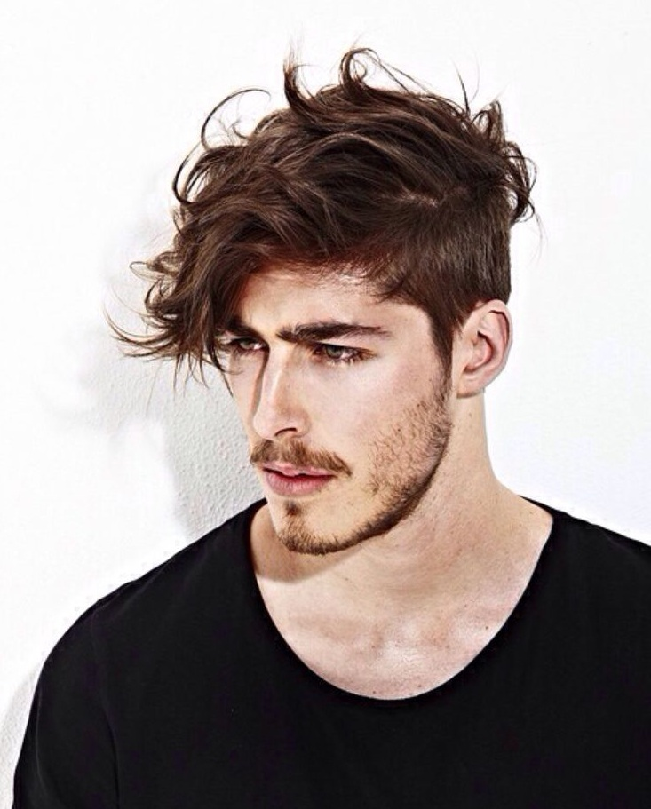 Wild Hairstyle for Men
