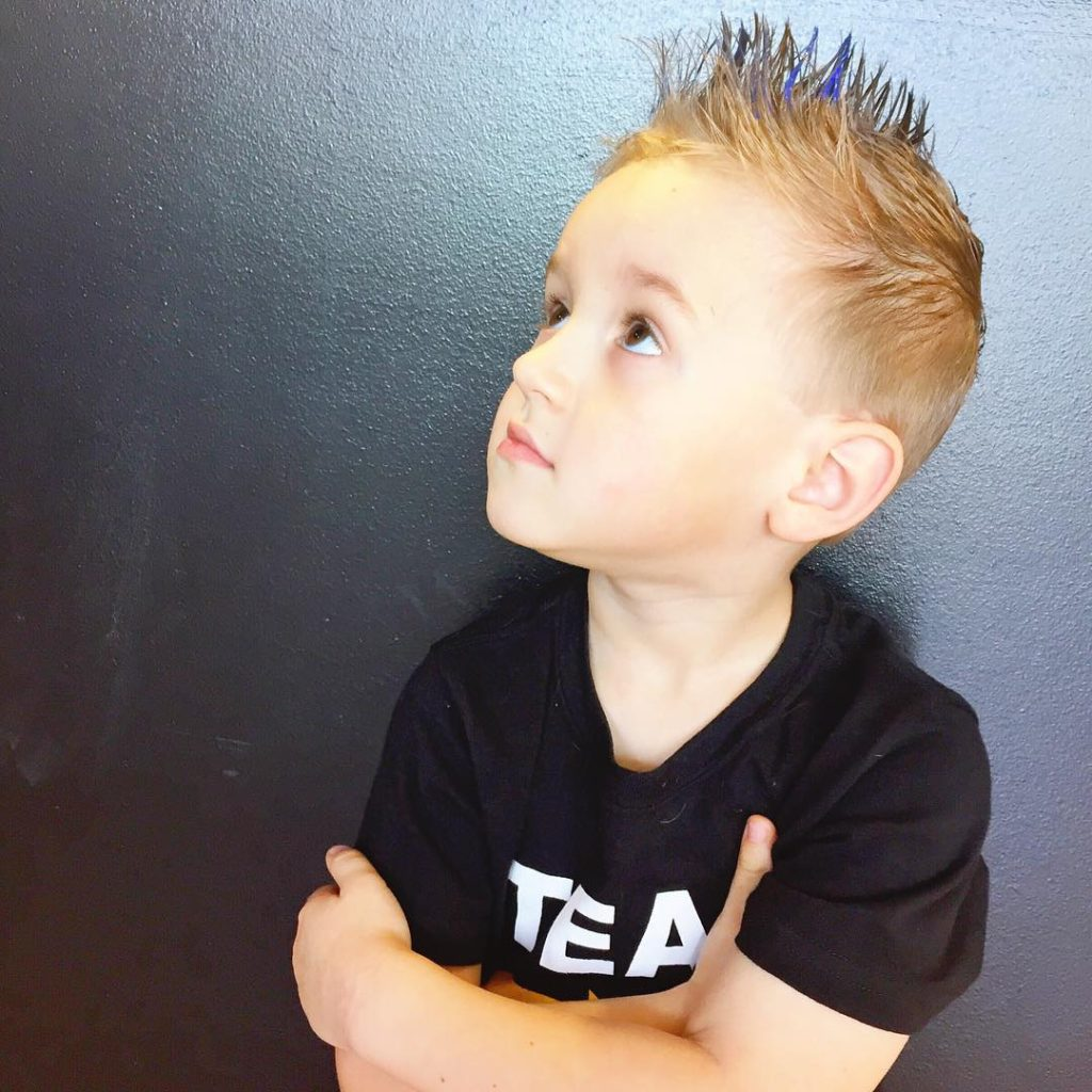 short spiky hairstyles for little boys