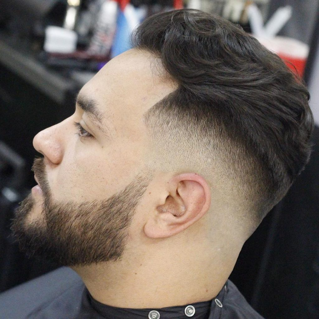 layered taper fade hairstyles