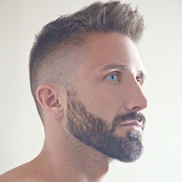 Modern Men`s Hairstyle