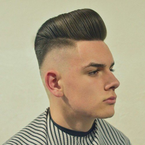 Skin Faded Tall Pompadour