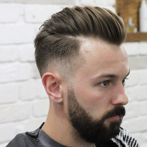 Natural Loose Hair Pompadour