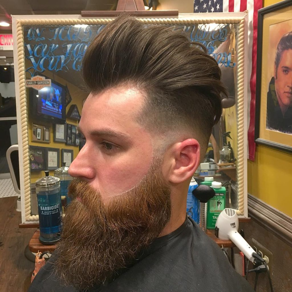 Undercut Hair with Hipster Appeal