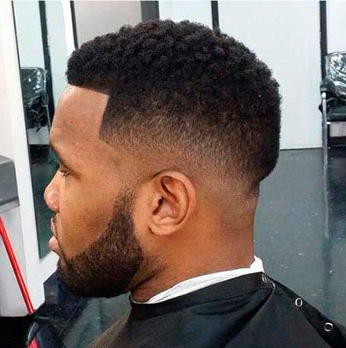 Best Black Male Fade Haircut Side Look