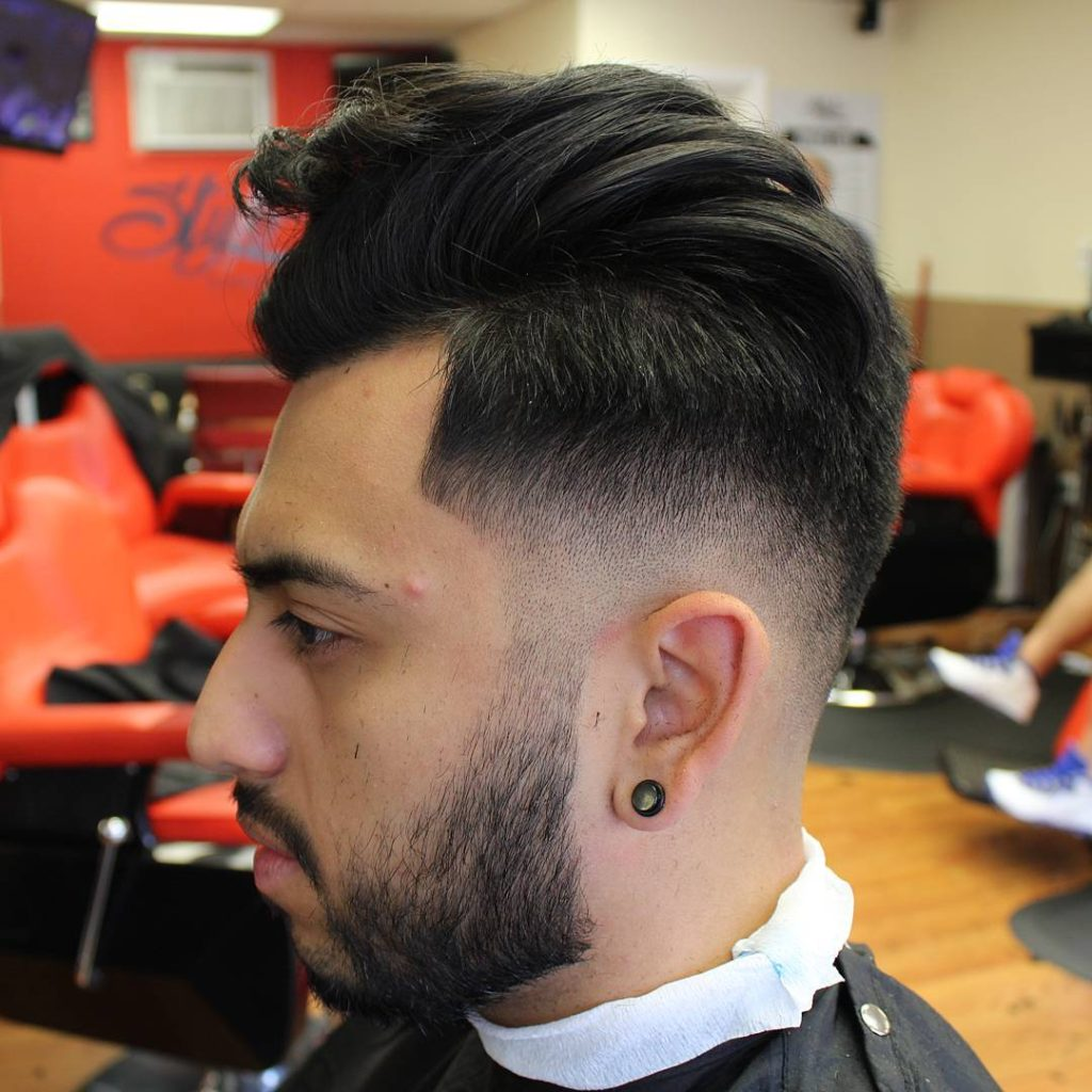 Retro Chic Undercut Haircut