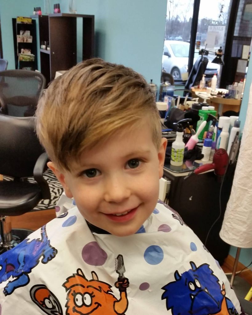 Short bang hairstyles for little boys