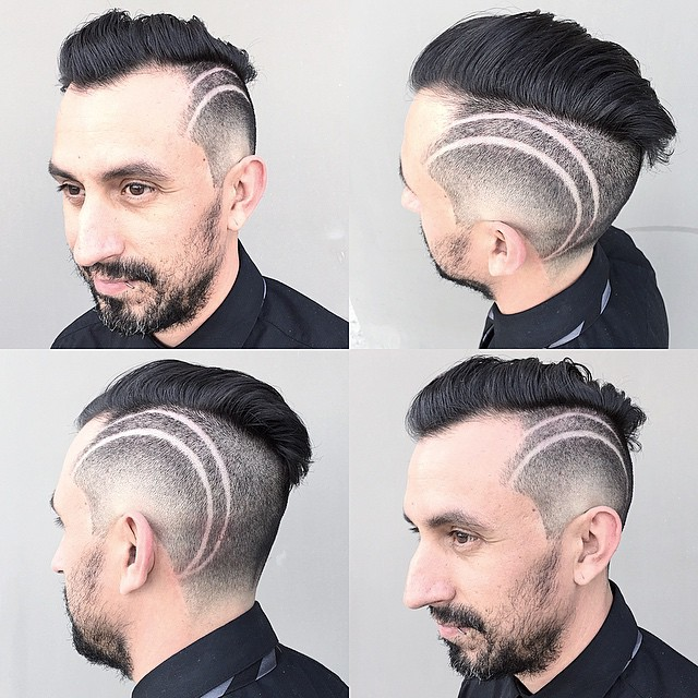 Side Design Haircuts