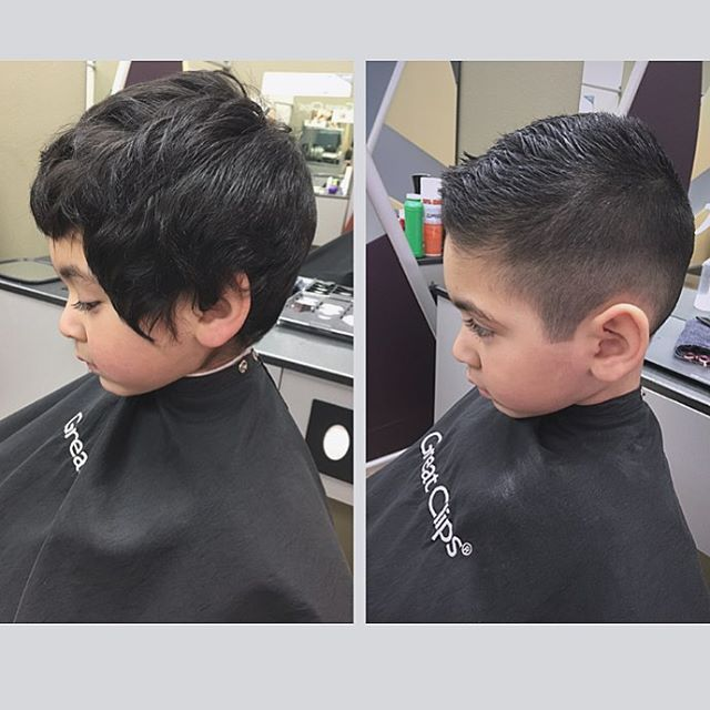 toddler boy short undercut hairstyles