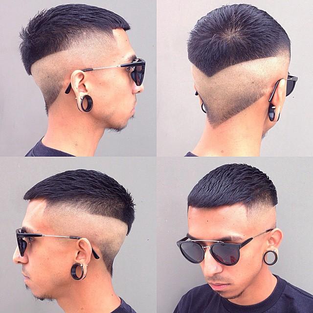 Sharp Angled Hairstyles