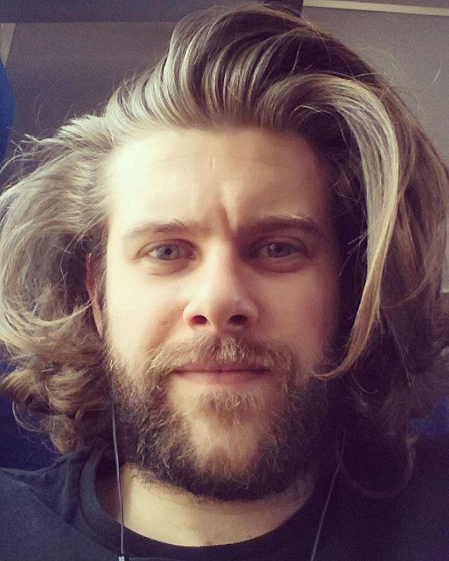 Medium Length Hair and Beard