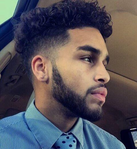 Curly Undercut styles