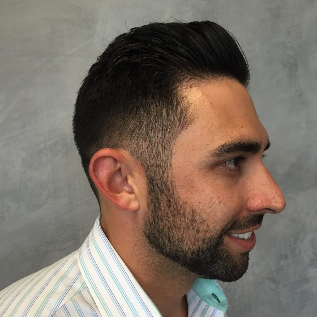 Short and Sleek Undercut