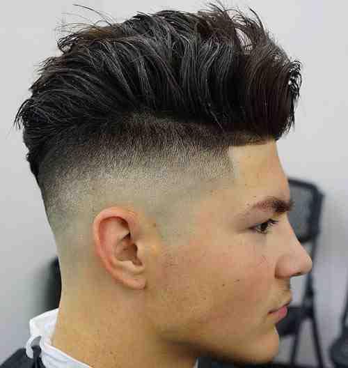 high skin fade haircut
