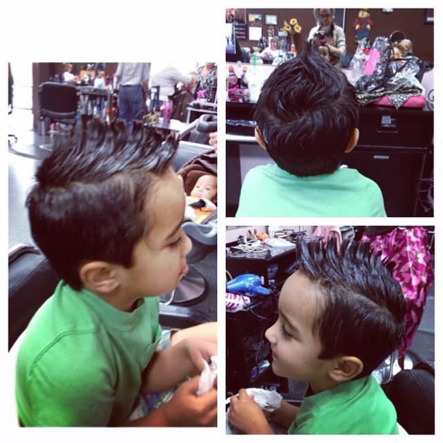Mohawk haircuts for medium length hair