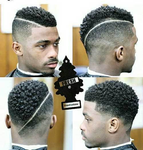 Black Male New Fade Haircut Idea