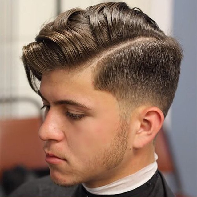 Combined Long-Short Hairstyles for Men