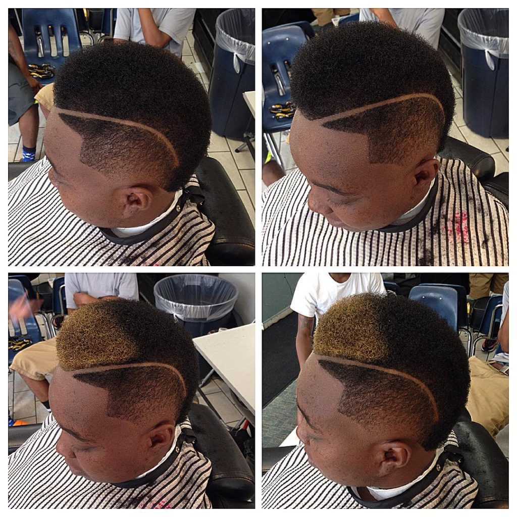 Afro Undercut for Men