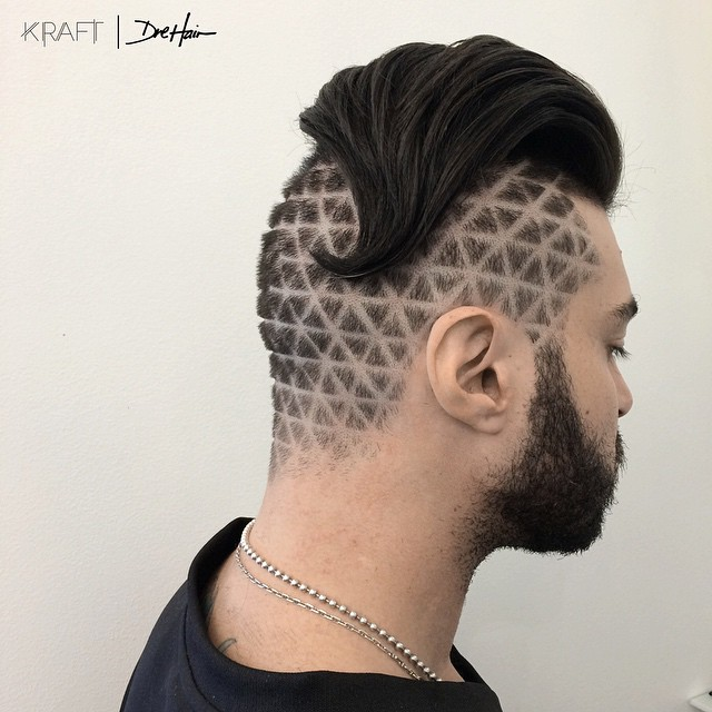 Quirky Quilted Undercut