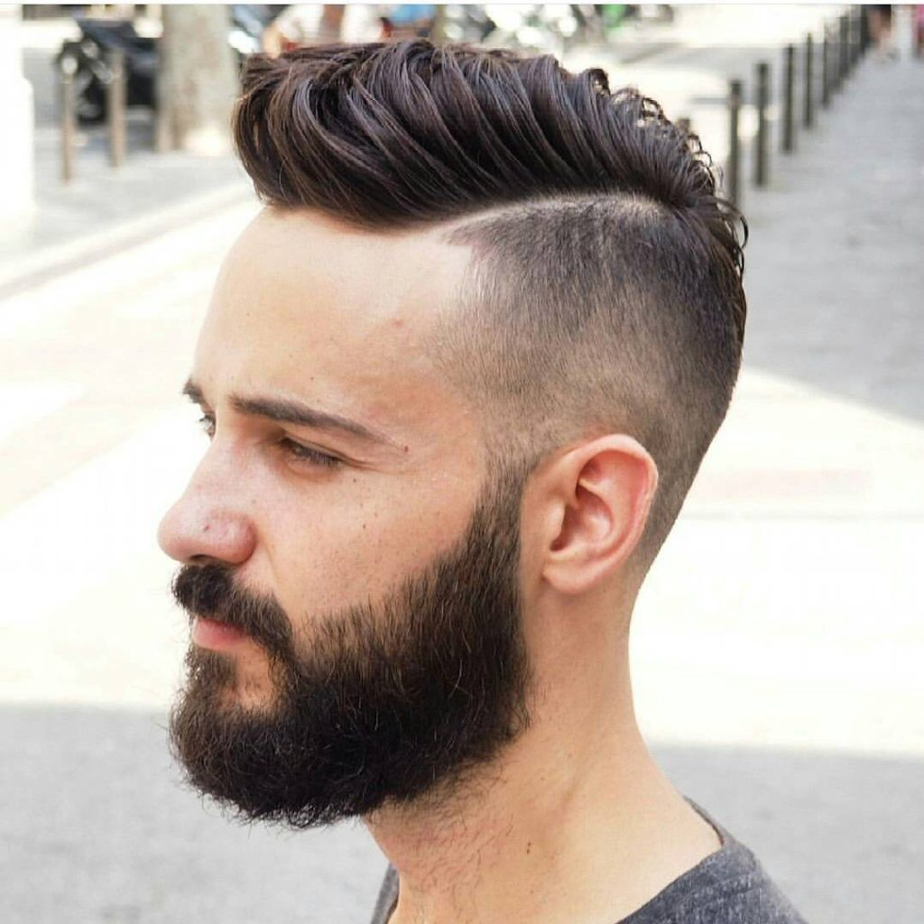Long Top, Short Sides and Beard