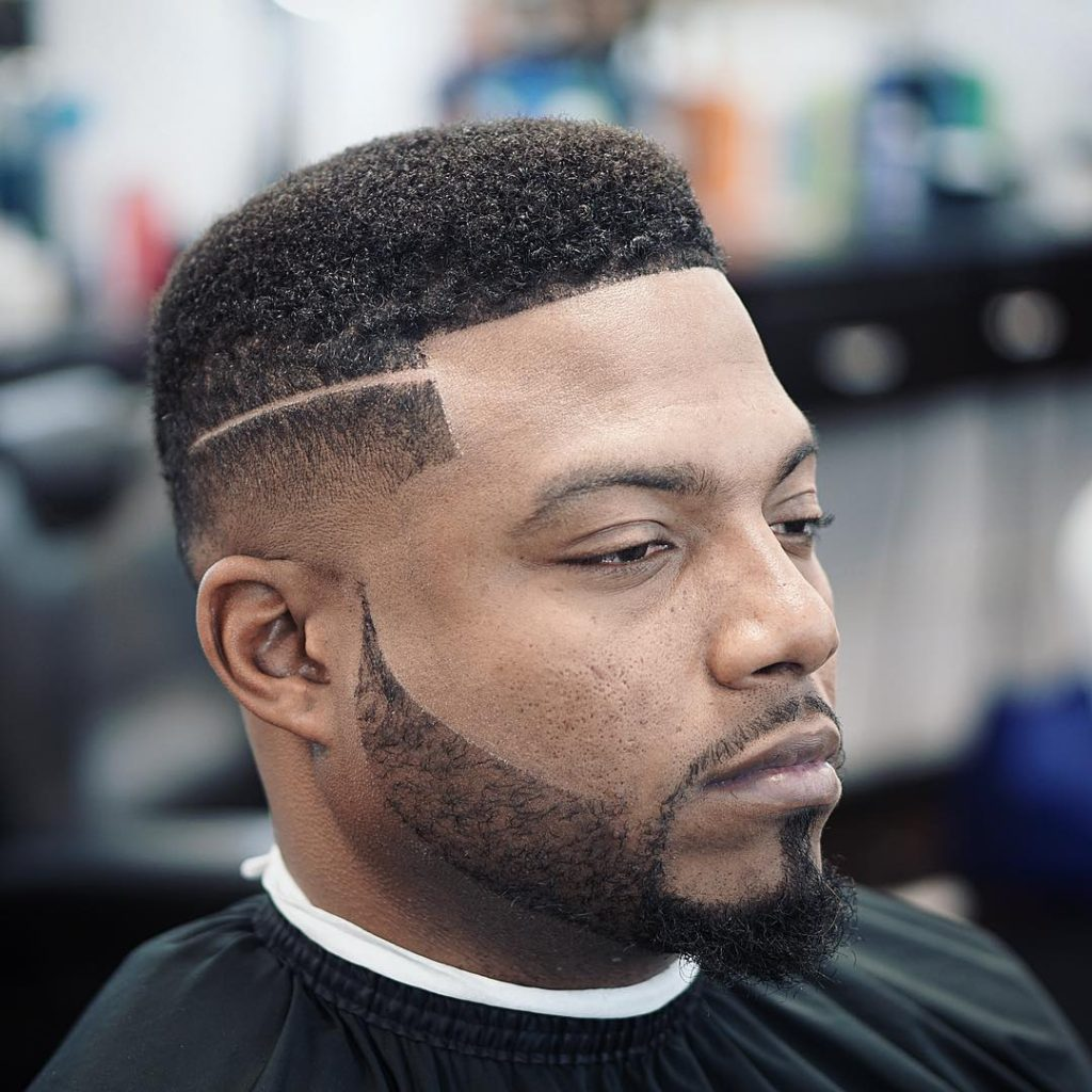 Box Fade with Parting