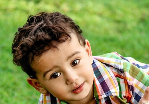 Whimsy and Classic Curly Boys Haircut