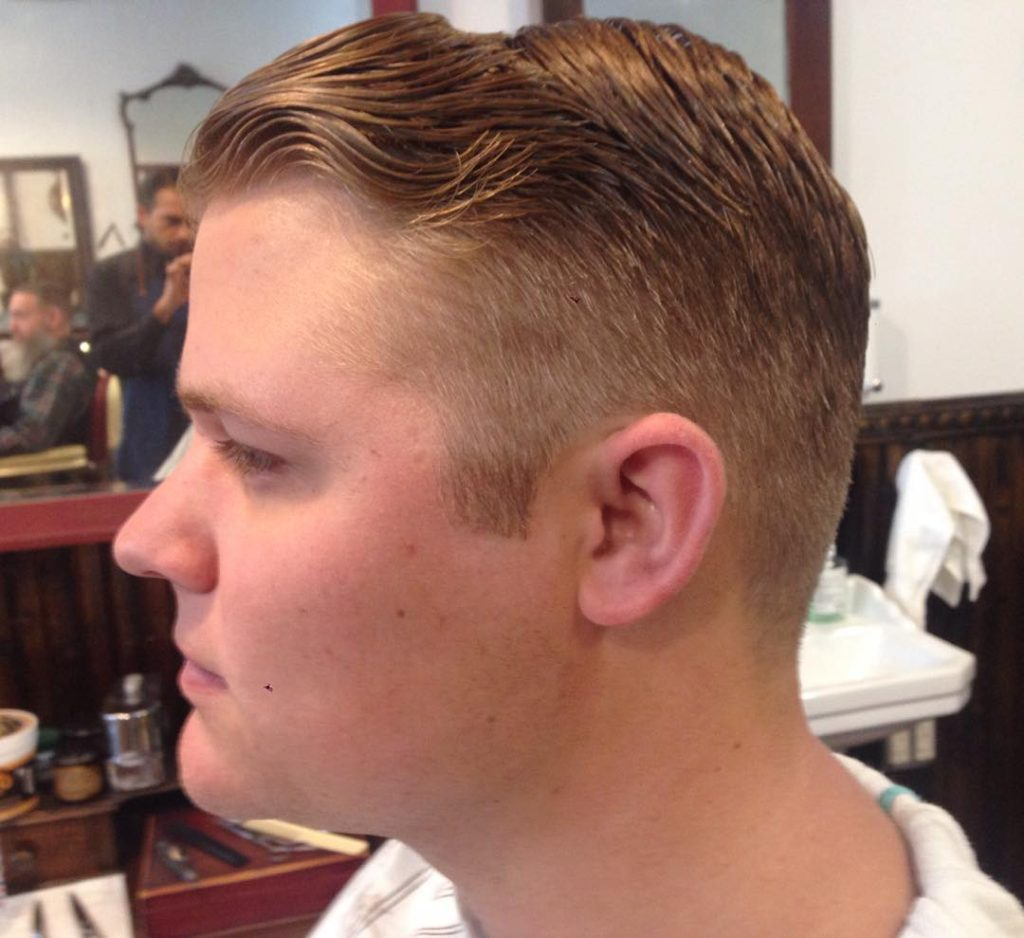 Taper Cut Hairstyle