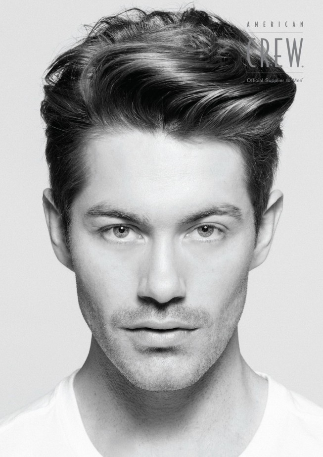The Side Part Fine Hairstyle