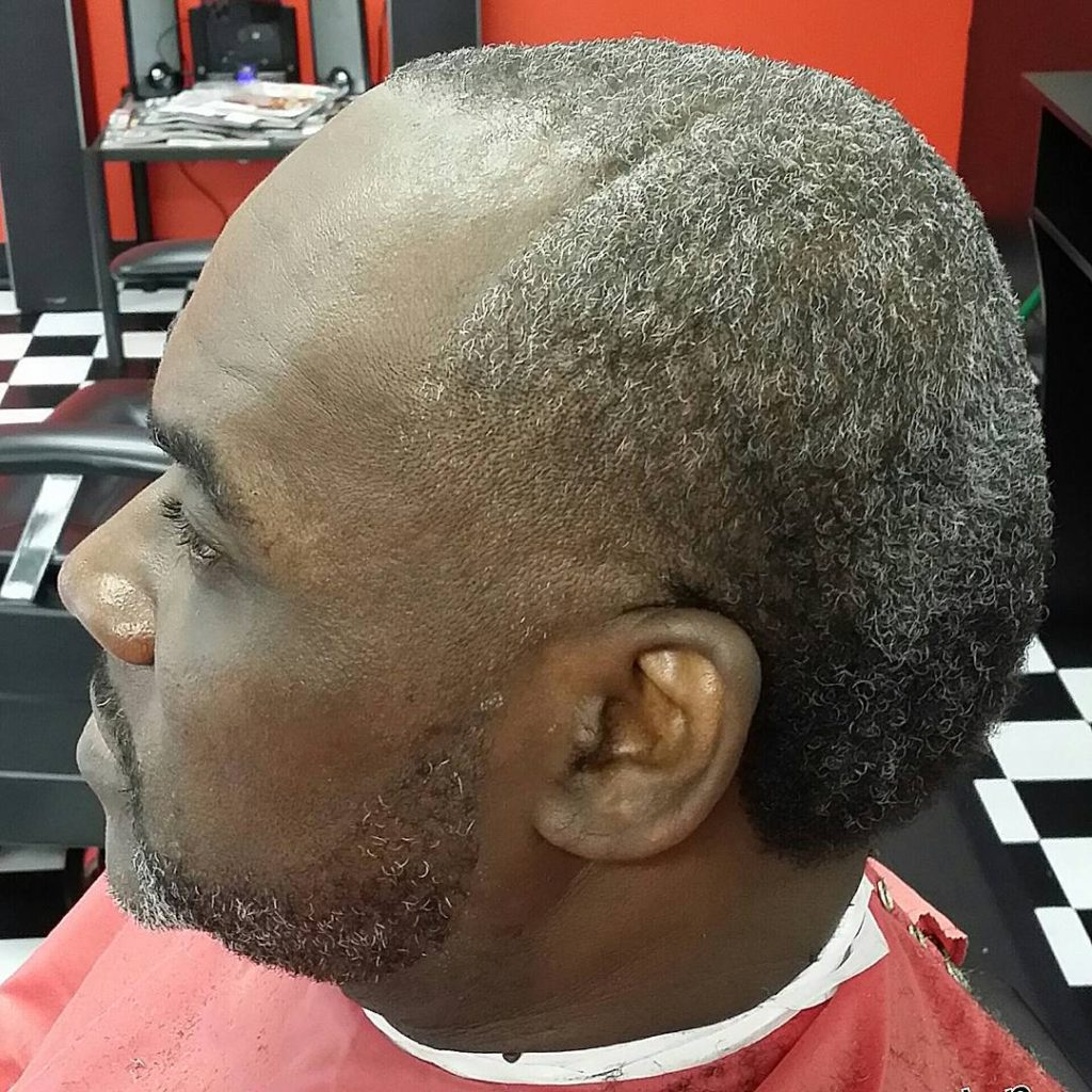 Burr Cut Hairstyle