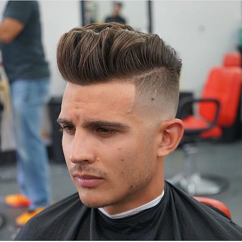 Bald Fade - High Fade Pompadour