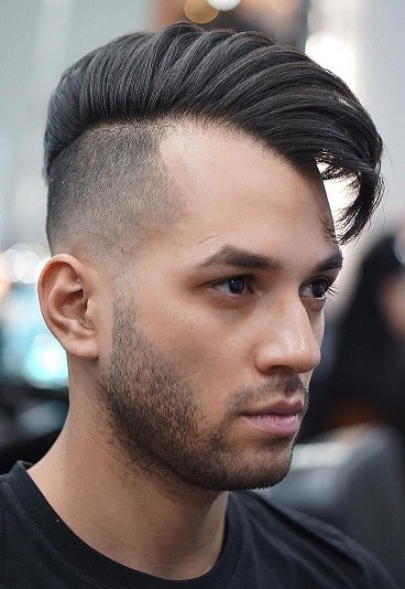 Cool medium length disconnect with shaved sides