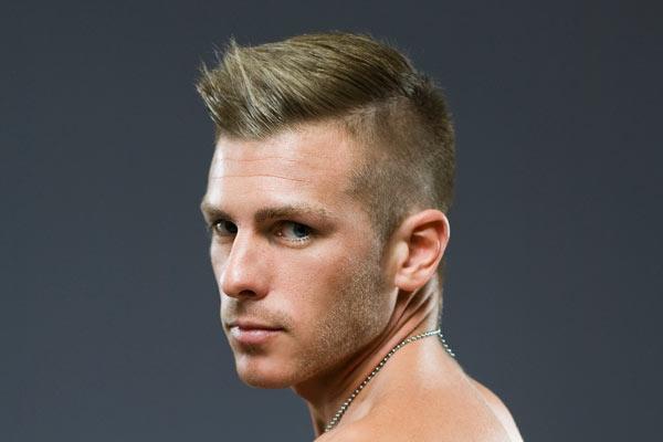 short haircut for men