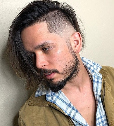 Longer Hair With Short Sides