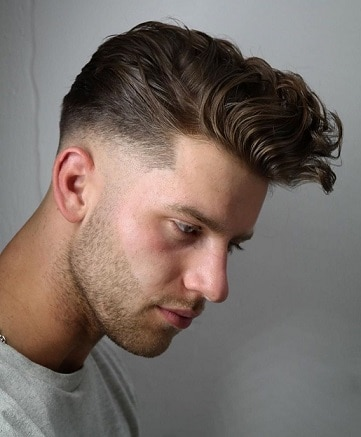 Short Sides Longer Hair With Texture On Top