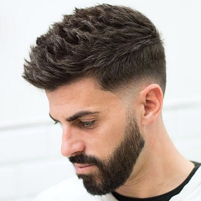 Short Textured and Spiky Haircut