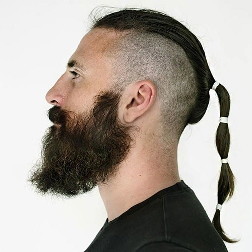 Very Long Hair with Side Undercut