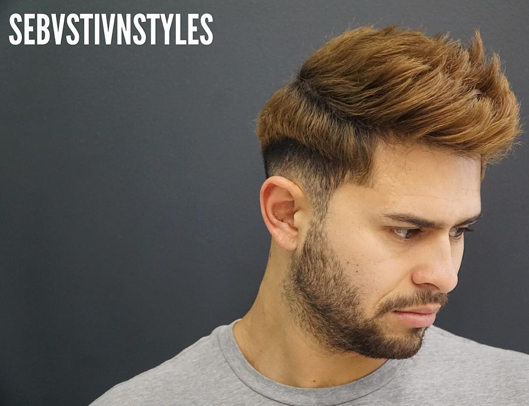 Hairstyles for Men - Textured Hair with Step