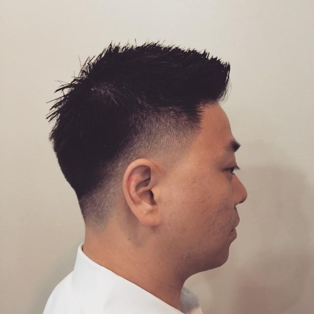 Thick Hair Simple Cut
